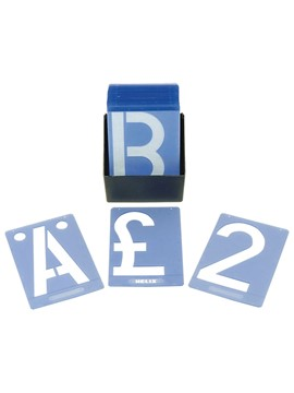 Image of 150mm A-Z stencils