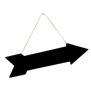 Image of Arrow Shaped Chalkboard