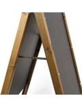 Image of A-Frame Rounded Top Chalkboard