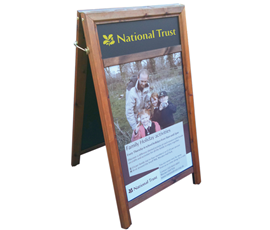Image of A-Board Poster Holders