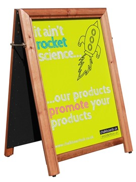 Image of A1 Poster Holder A-Board (Security)