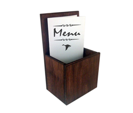 Image of Large Menu holders