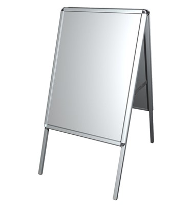 Image of Aluminium A-Frame Poster Snap Frames