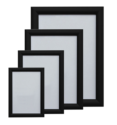 Image of Black Aluminium Snap Frames