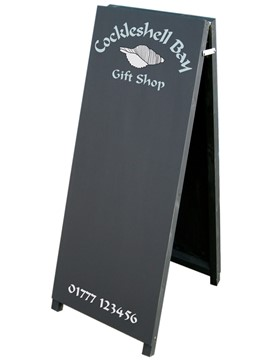 Image of Tall Thin A-Board Blackboard