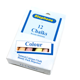 Image of Stick Chalk (Assorted) 12 Pack