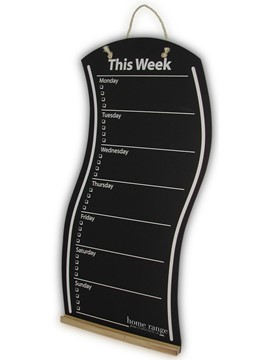Image of THIS WEEK Wavy Chalkboard