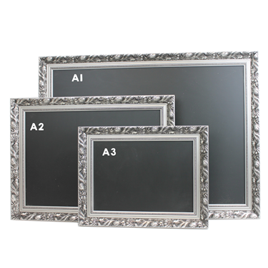 Image of Silver Framed EasytoClean Chalkboards