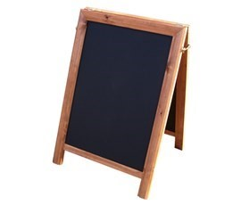 Image of A-Board Chalkboard / Pavement Signage