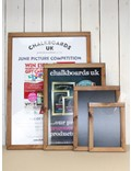 Image of Slide in Poster Holder Chalkboards