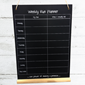 Image of Running Planner Chalkboards (A3)