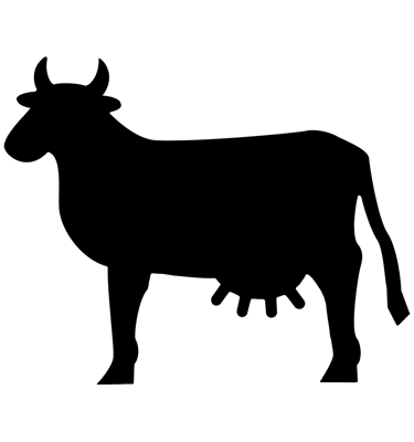Image of Cow Chalkboards