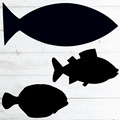 Image of Fish Shaped Chalkboards
