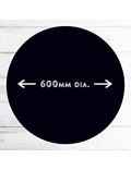 Image of Circular Chalkboards