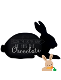 Image of Rabbit Chalkboard