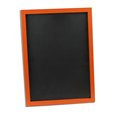 Image of Orange Framed Chalkboards