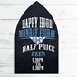 Image of Gothic Arched Top Unframed Chalkboard