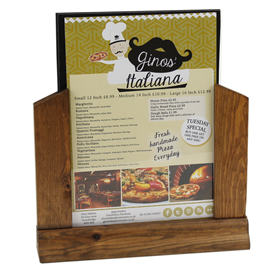 Image of Acrylic Menu Holder