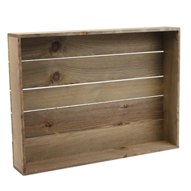Image of Rustic Crate Tray - Large