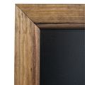 Image of Dark Oak Framed Blackboards