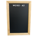 Image of Antique Pine Framed Chalkboards