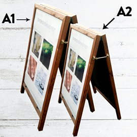Image of Easy Change Wooden Poster