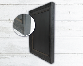 Image of Black Framed Chalkboards
