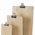 Image of Wooden Clip Boards  (Natural)