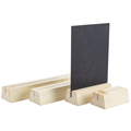 Image of Natural Block Menu Holders (4mm Groove)
