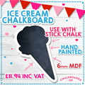 Image of Ice Cream Chalkboard
