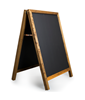 Image of Square Top A-Frame Chalkboard