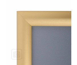 Image of Gold Aluminium Snap Frames