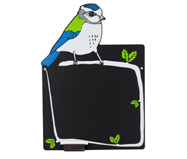 Image of Garden Bird Chalkboard