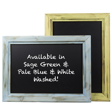 Image of Distressed Chunky Framed Chalkboards