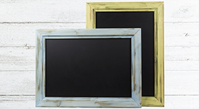 Distressed Chunky Framed Chalkboards