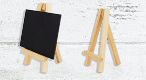 Mini Easels & Boards (Pack of 5)