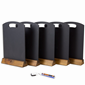 Image of Table Chalkboards - Pack of 5 with Chalk Pen