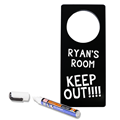 Image of Chalkboard Door Hangers