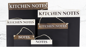 Kitchen Notes Chalkboard