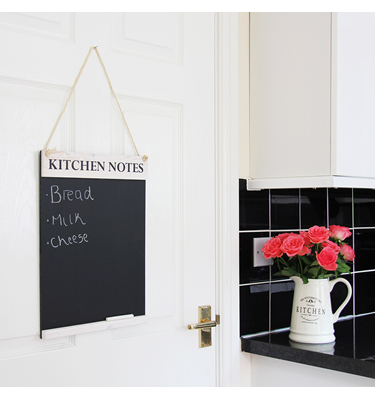 Kitchen Notes Chalkboard | ChalkboardsUK