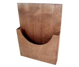 Image of Wooden Leaflet Holder
