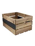 Image of Rustic Crate with Chalkboard Panel