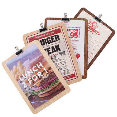 Image of A6 Clipboards with Mini Bulldog Clips (Pack of 5)