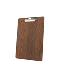 Image of Wooden Fixed Clip Clipboards (Dark Oak)