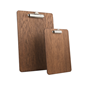 Image of Wooden Fixed Clip Clipboards (Dark Oak or Black)