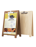 Image of Menu Holder (Double Clip) Clipboard A Frame