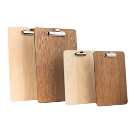 Image of Wooden Clipboards (Portrait)