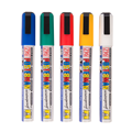 Image of Waterproof Assorted Thin (Pack of 5) Liquid Chalk Pens
