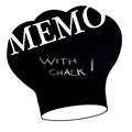 Image of Chef's Hat Memo Chalkboard