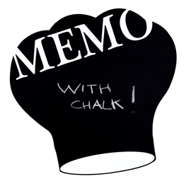 Image of Chef's Hat Chalkboard